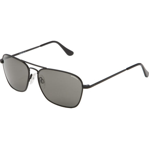 Randolph Engineering Intruder Matte Black Sunglasses | Gray Glass Skull 58MM IR82411