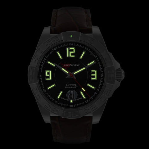 Isobrite Automatic Executive ISO711 Watch | Leather