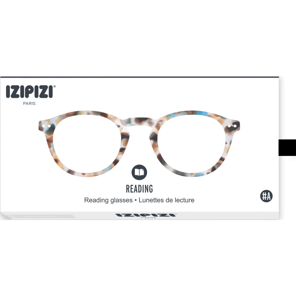 Izipizi Reading Glasses - A +1.5 | Blue Tortoise IZ-LMSAC18-15