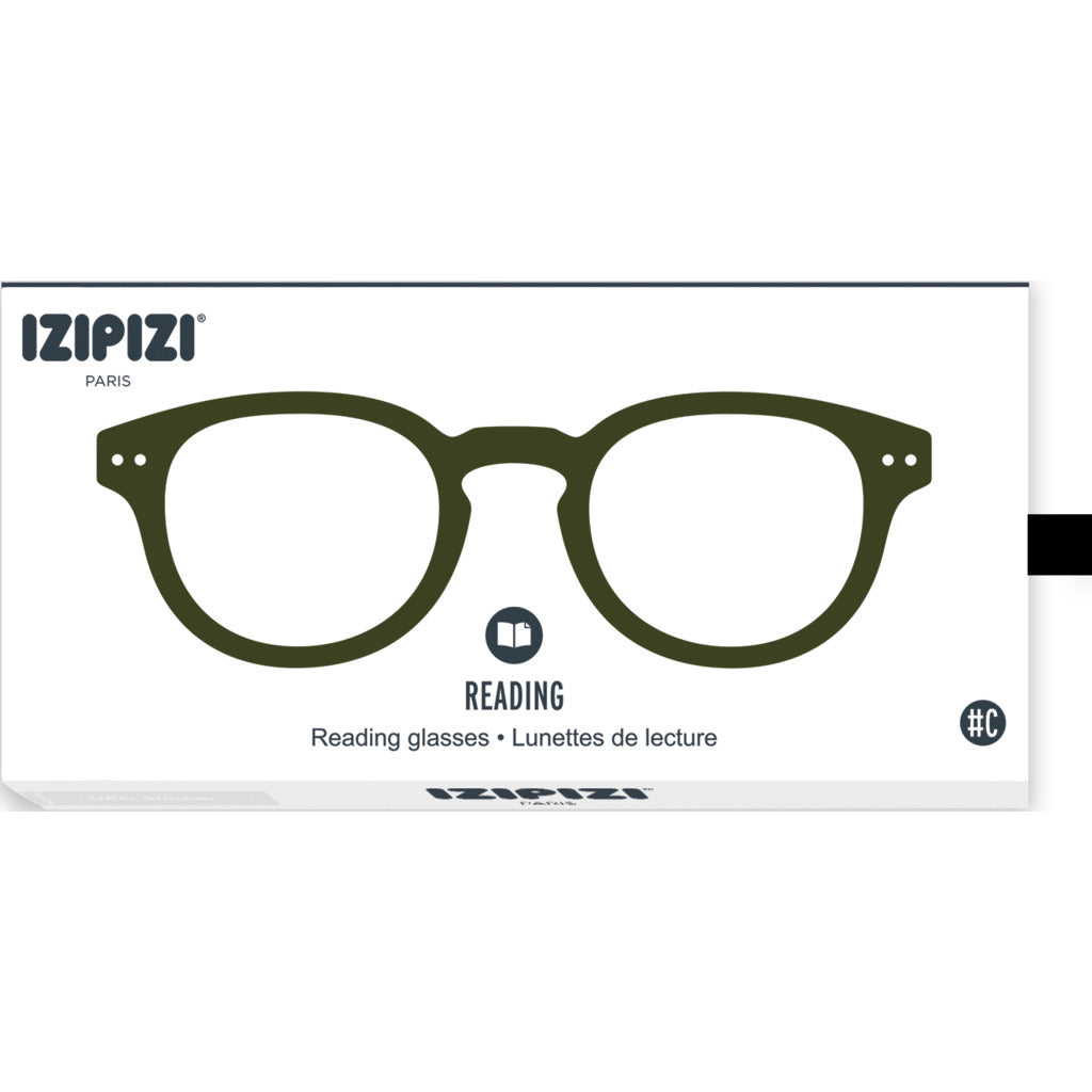 Izipizi Reading Glasses - C +1 | Khaki Green IZ-LMSCC25-10