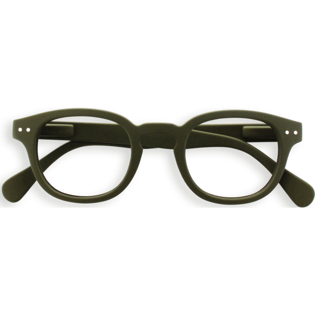 Izipizi Reading Glasses - C +1.5 | Khaki Green IZ-LMSCC25-15
