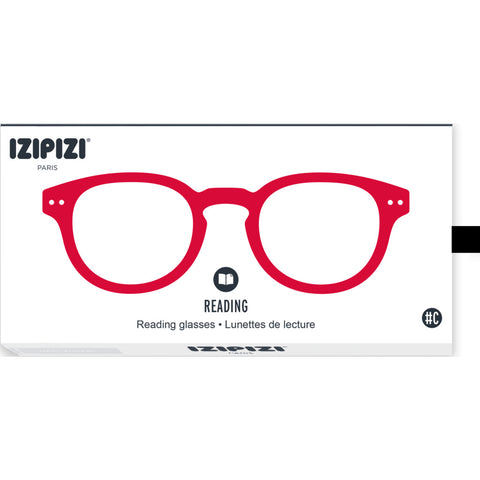 Izipizi Reading Glasses - C +1.5 | Red Crystal IZ-LMSCC04-15