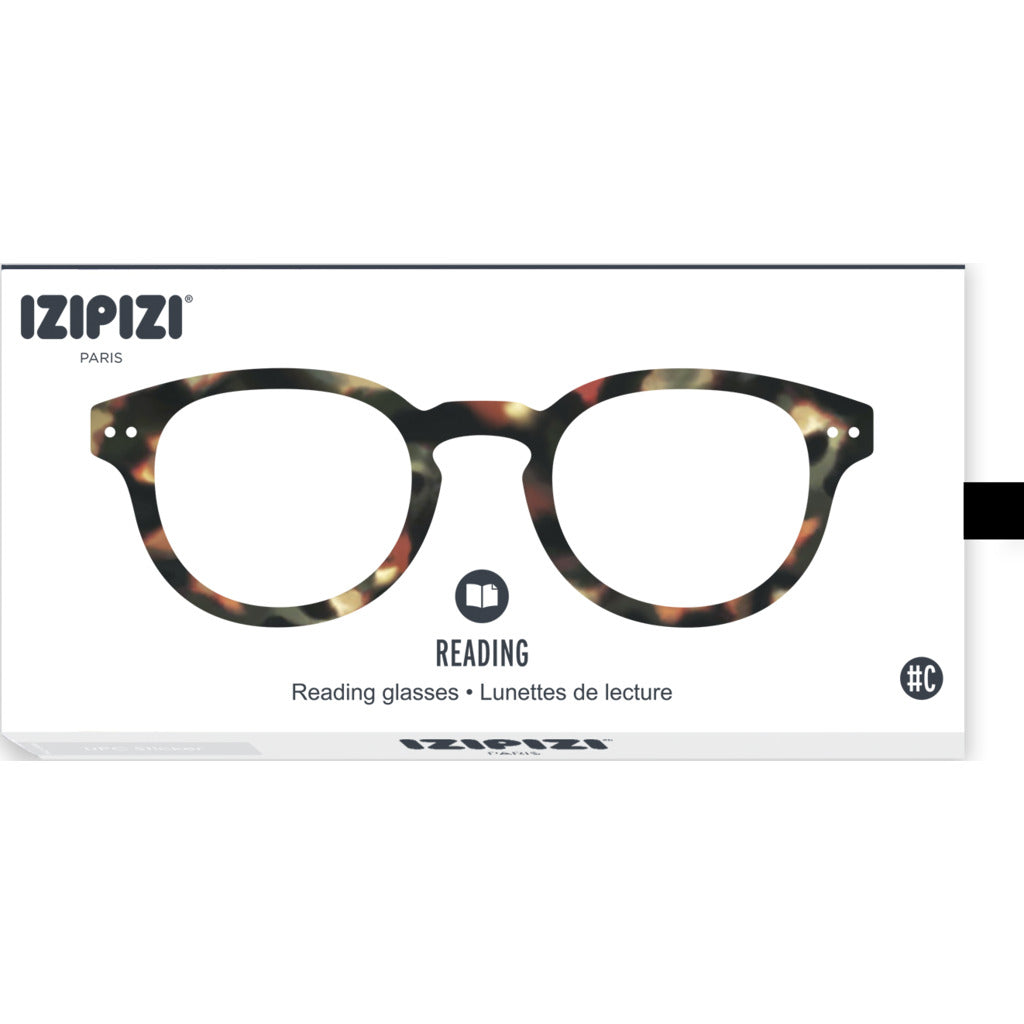 Izipizi Reading Glasses - C +1 | Tortoise IZ-LMSCC02-10