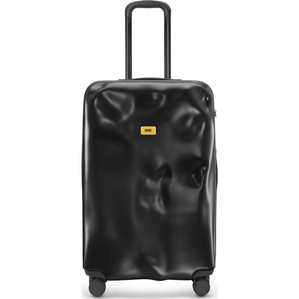 Crash Baggage Icon Trolley Suitcase | Black --Large Cb163-01