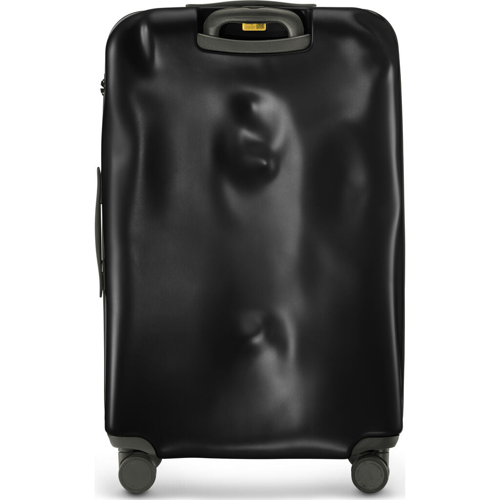 Crash Baggage Icon Trolley Suitcase | Black --Medium Cb162-01