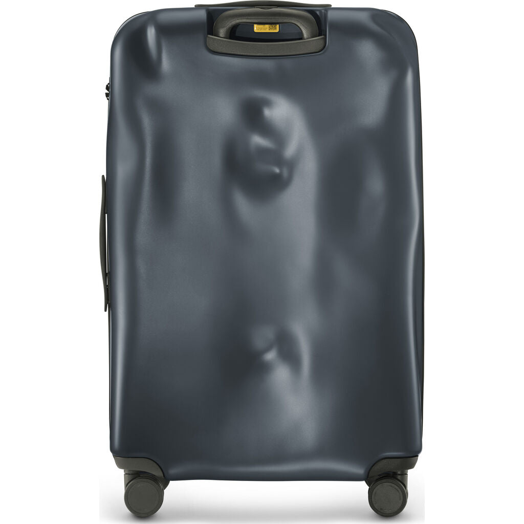 Crash Baggage Icon Trolley Suitcase | Dark Grey --Medium Cb162-02