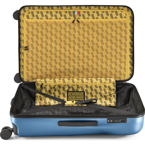 Crash Baggage Icon Trolley Suitcase | Metal Blue --Large Cb163-25