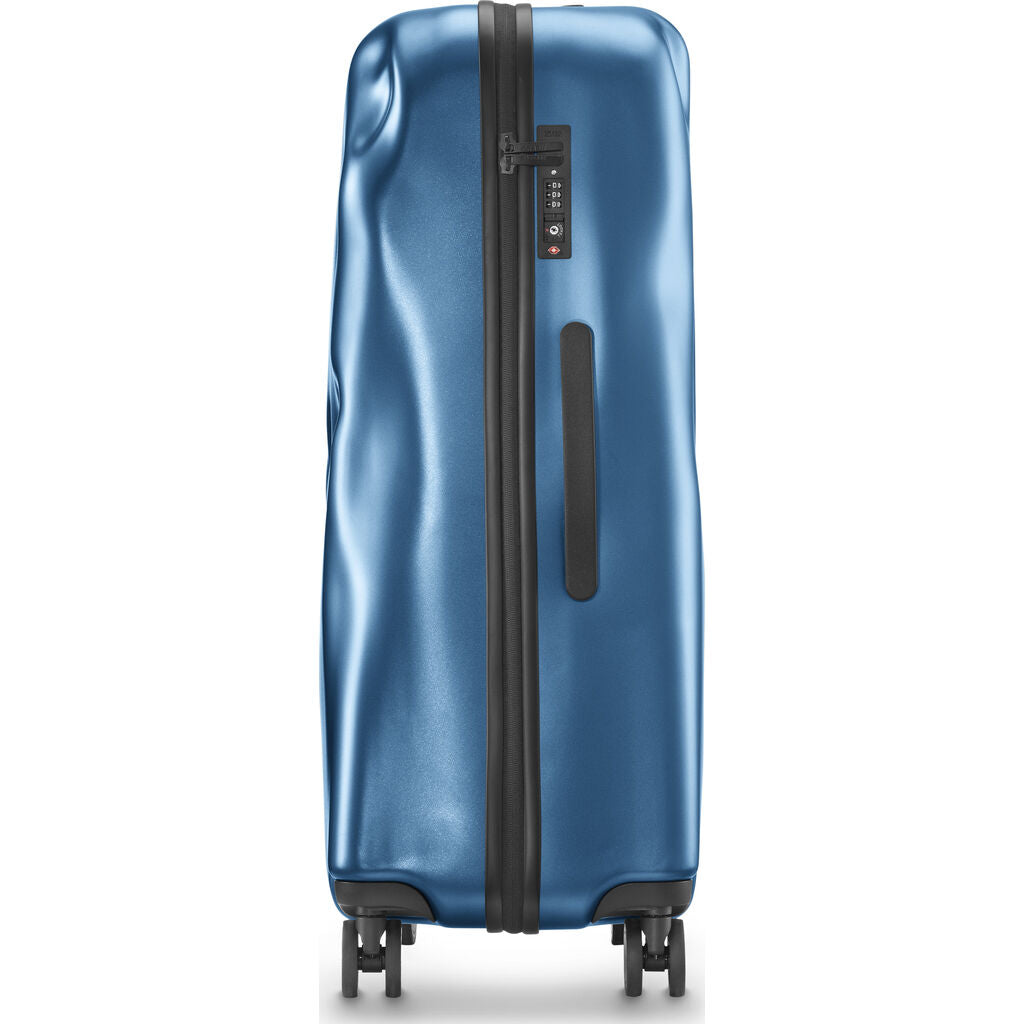 Crash Baggage Icon Trolley Suitcase | Metal Blue --Small Cb161-25