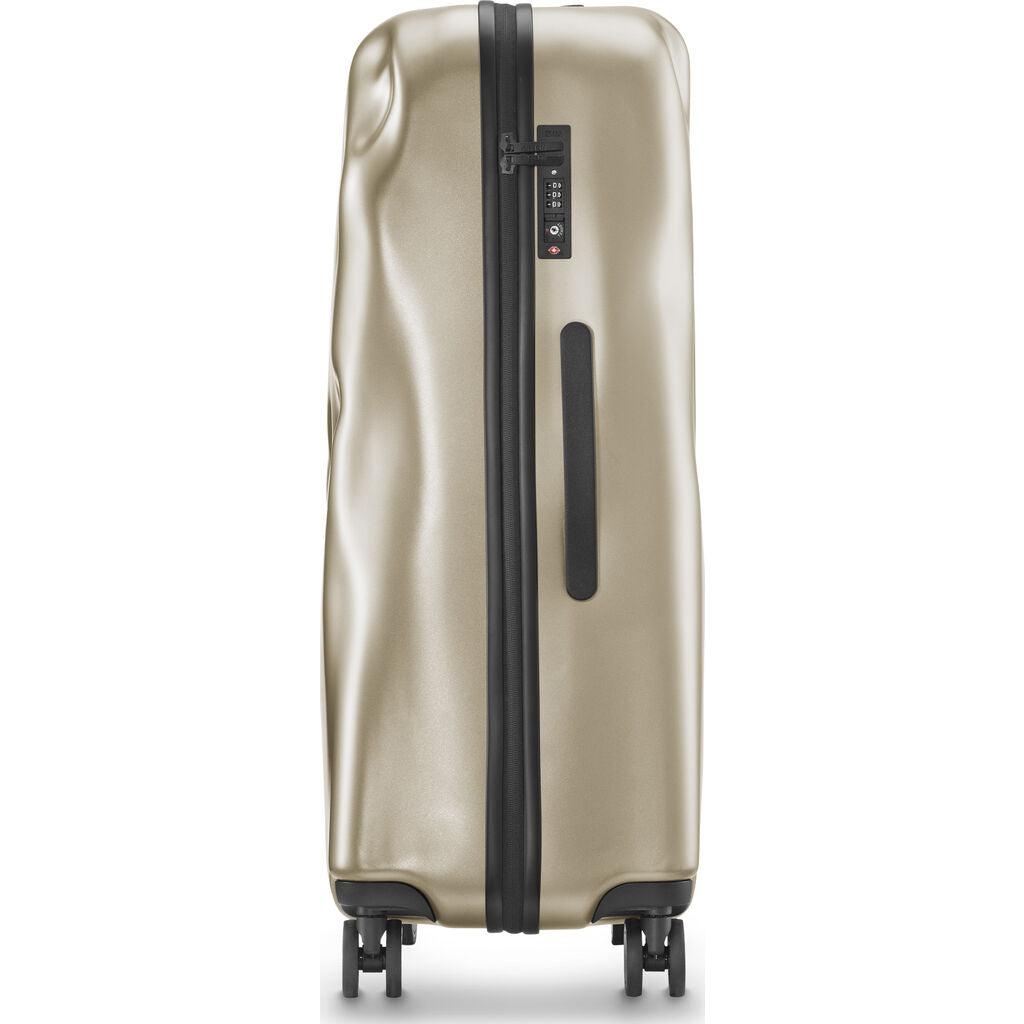 Crash Baggage Icon Trolley Suitcase | Metal Gold --Small Cb161-20