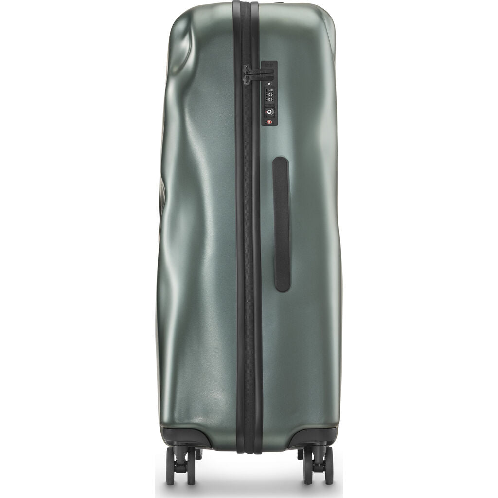 Crash Baggage Icon Trolley Suitcase | Metal Green --Small Cb161-26