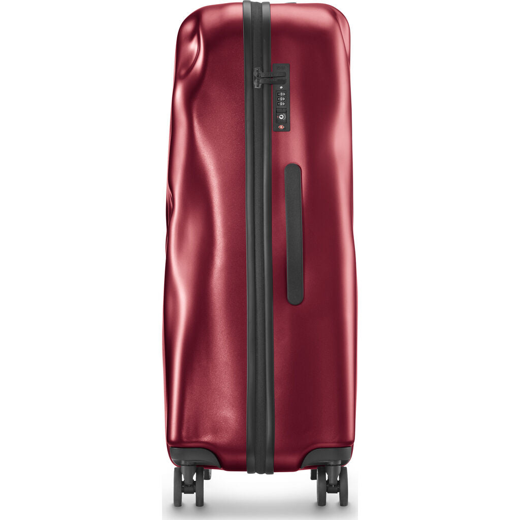 Crash Baggage Icon Trolley Suitcase | Metal Red --Small Cb161-24