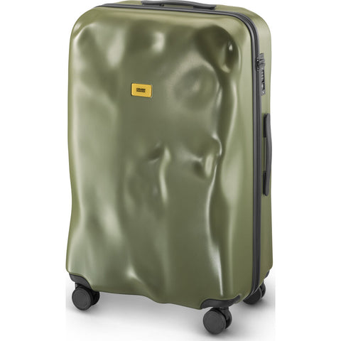 Crash Baggage Icon Trolley Suitcase | Olive Green --Large Cb163-05