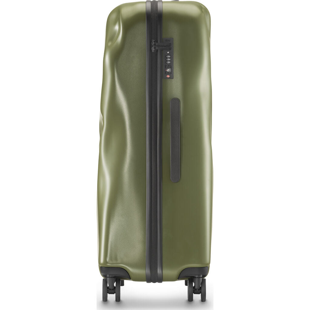 Crash Baggage Icon Trolley Suitcase | Olive Green --Small Cb161-05