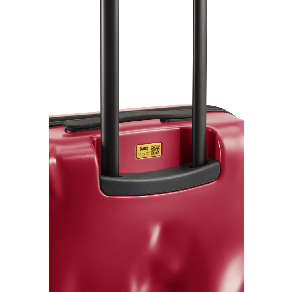 Crash Baggage Icon Trolley Suitcase | Red --Large Cb163-11