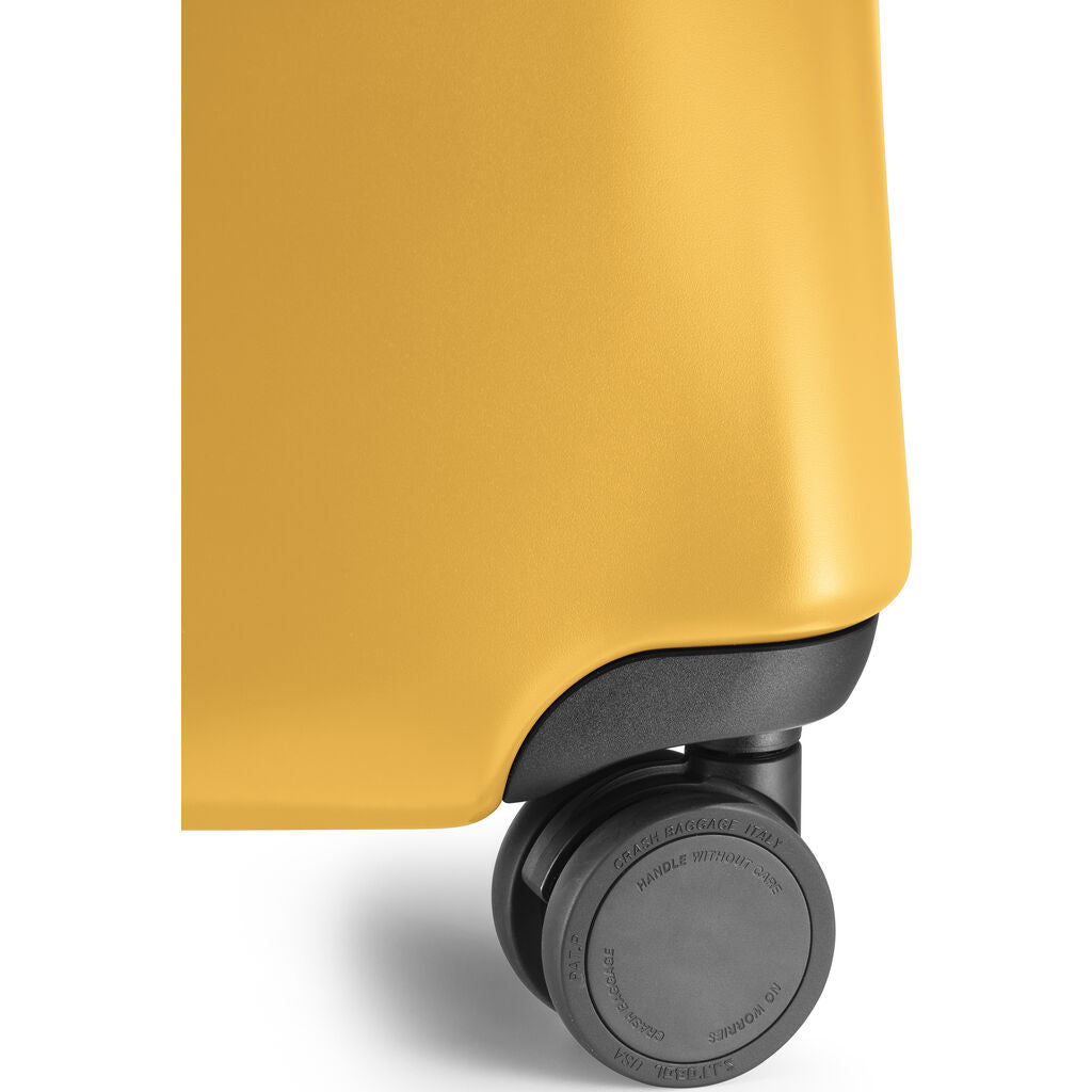 Crash Baggage Icon Trolley Suitcase | Yellow --Large Cb163-04