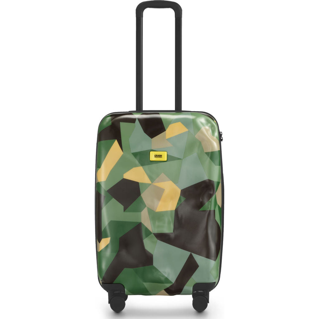 Crash Baggage Pioneer Medium Trolley Suitcase |Limited Edition Camo CB132