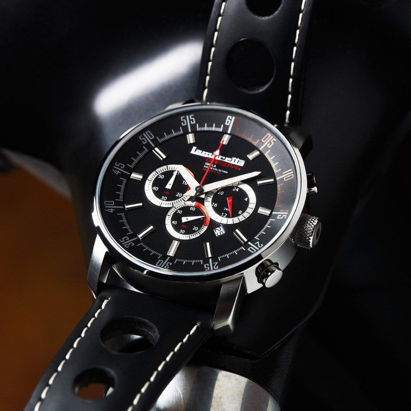 Lambretta Imola Watch | Leather Black 2151BLA