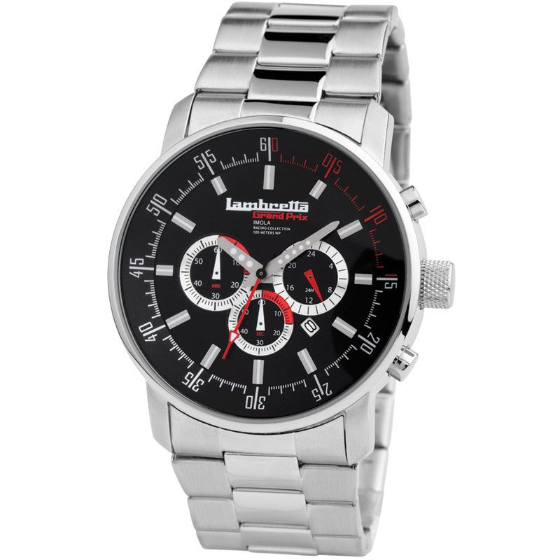 Lambretta Imola Watch | Bracelet Black 2152BLA