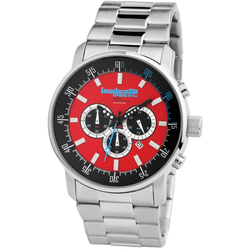 Lambretta Imola Watch | Bracelet Red 2152RED