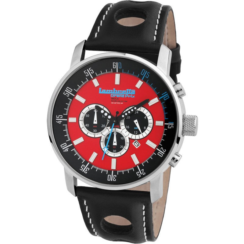 Lambretta Imola Watch | Leather Red 2151RED
