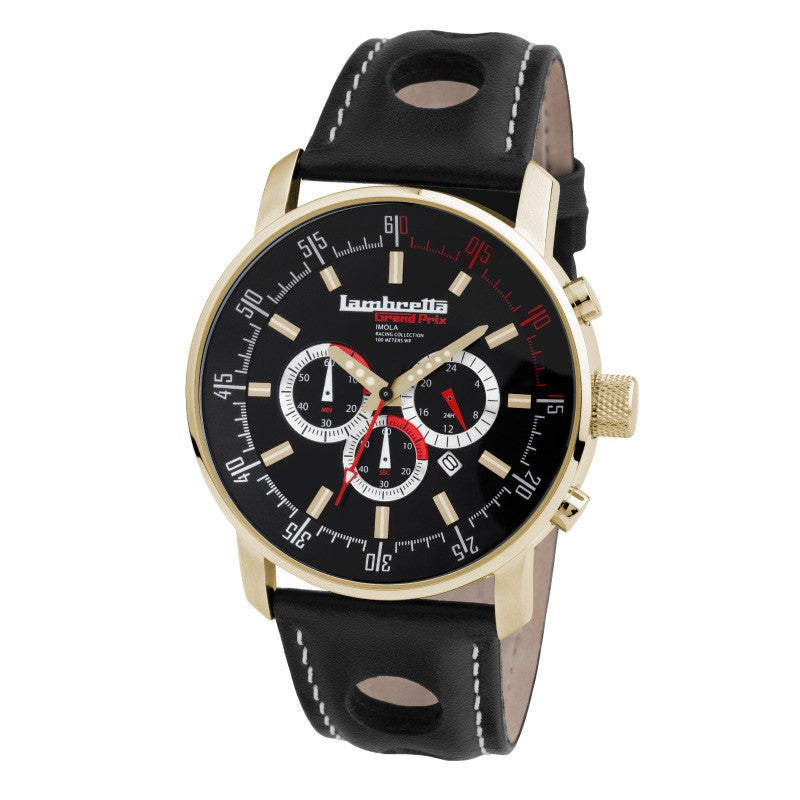 Lambretta Imola Gold/Black Watch | Leather*