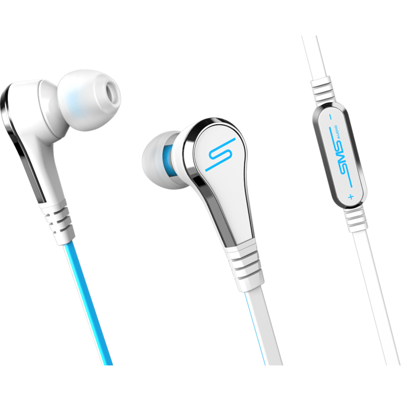 SMS Audio Street by 50 In-Ear Wired Studio Headphones | Ghost White