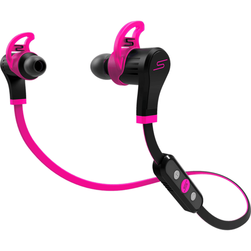 SMS Audio Sync by 50 Wireless In-Ear Sport Headphones | Pink