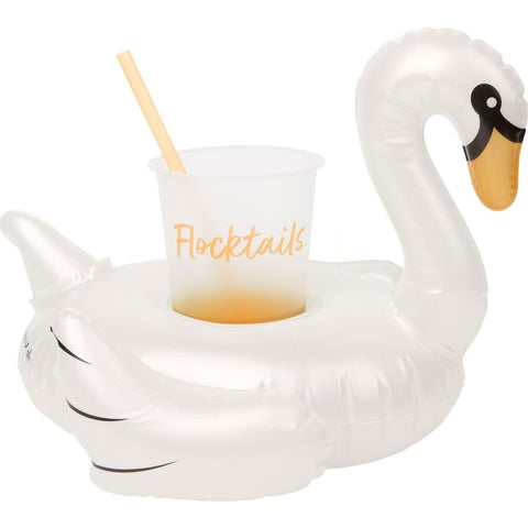 Sunnylife Inflatable Drink Holder | Swan/SULSWA4W