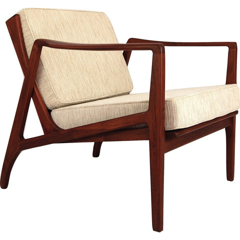 Bowery & Grand BG1122 Ivory Chair | Zoe