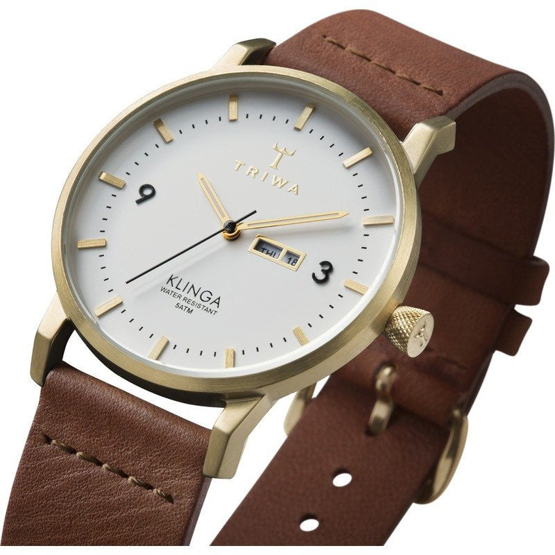 Triwa Ivory Klinga Watch | Brown Classic KLST103.CL010213