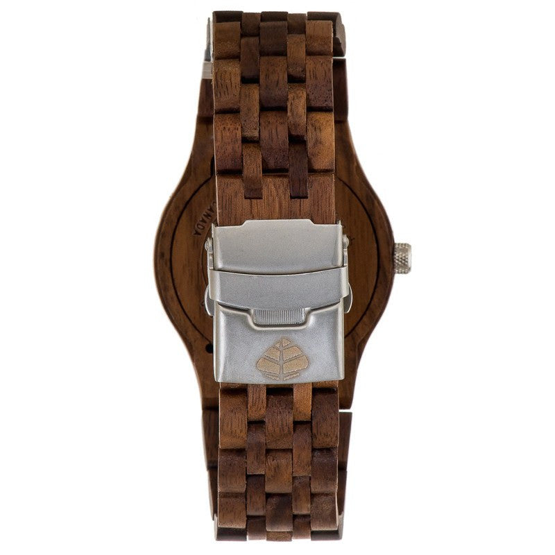 Tense Yukon Discovery Men's Watch American Walnut | J5200W