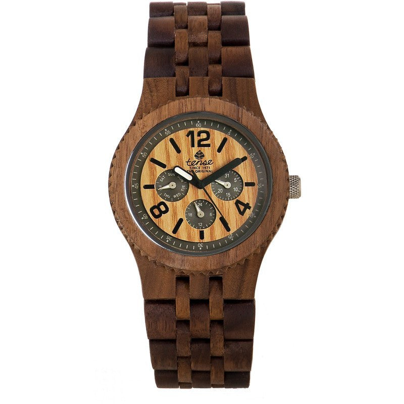 Tense Vernon Adventure Men's Watch American Walnut | J5203W