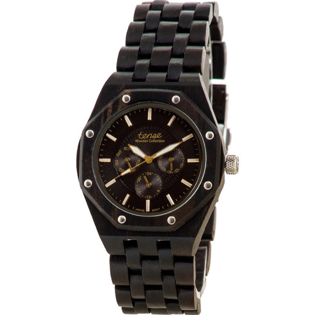 Tense Washington Watch | Dark Sandalwood J5803D