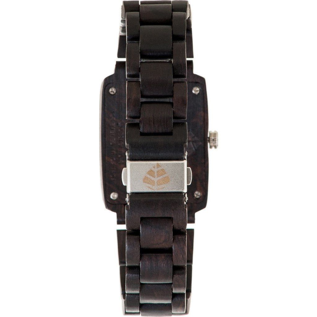 Tense Timber Watch | Dark Sandalwood J8102D-BSIL