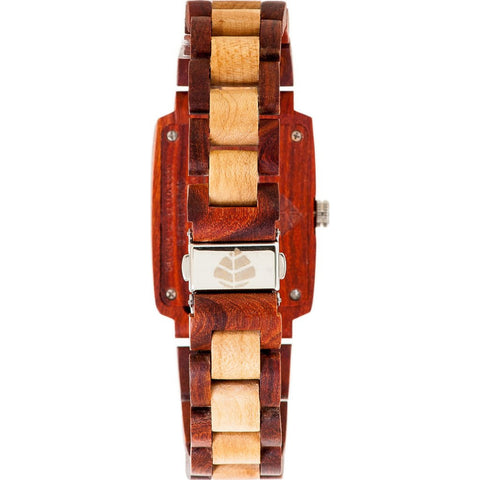 Tense Timber Watch | Rosewood/Maplewood J8102RM-SG