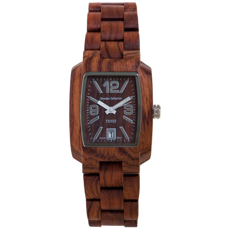 Tense Timber Discovery Men's Watch African Rosewood | J8102R