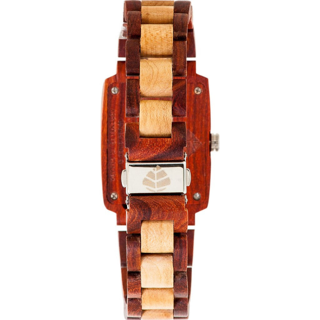 Tense Timber Watch | African Rosewood/Maple J8102RM