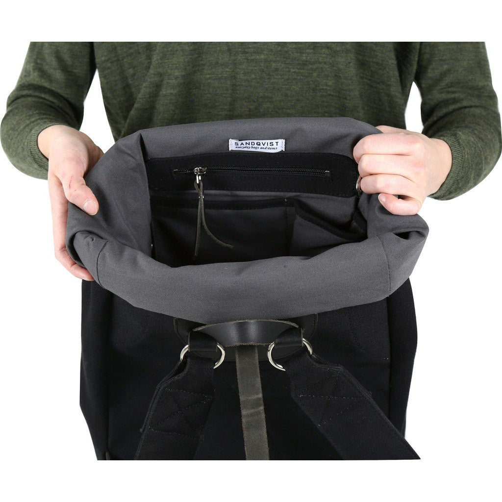 Sandqvist Jerry Backpack | Black SQA542