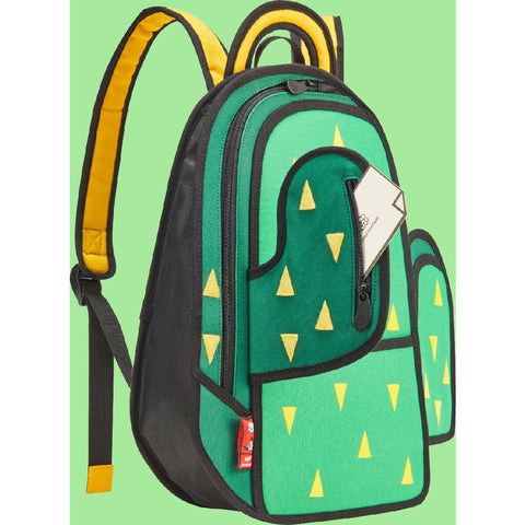 Jump From Paper Cactus Backpack | Green