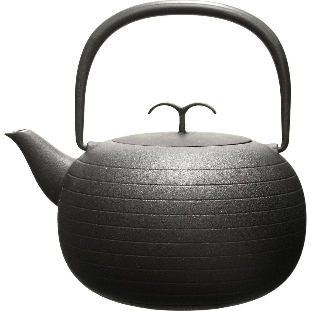 Oigen Palma Teapot | Black OF-JM007