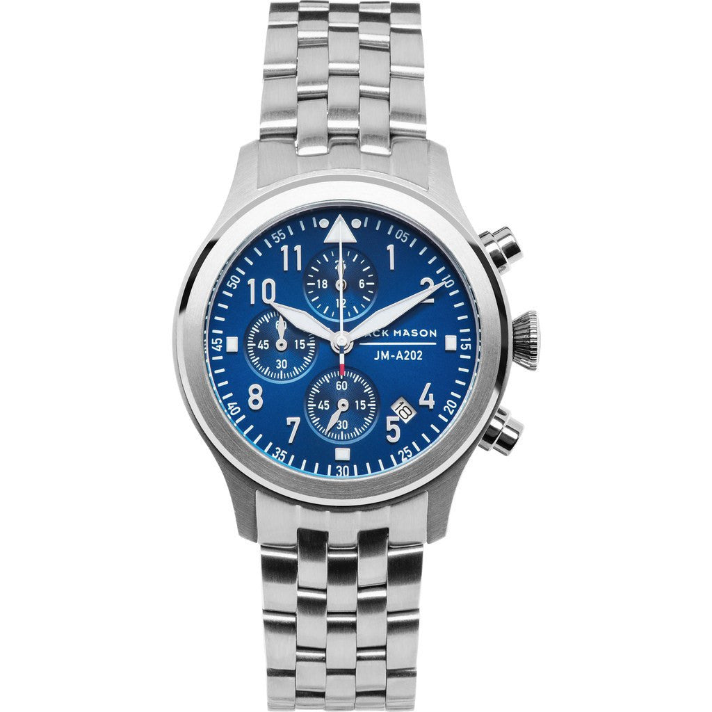 Jack Mason Aviator JM-A202-005 Chronograph Watch | Steel JM-A202-005