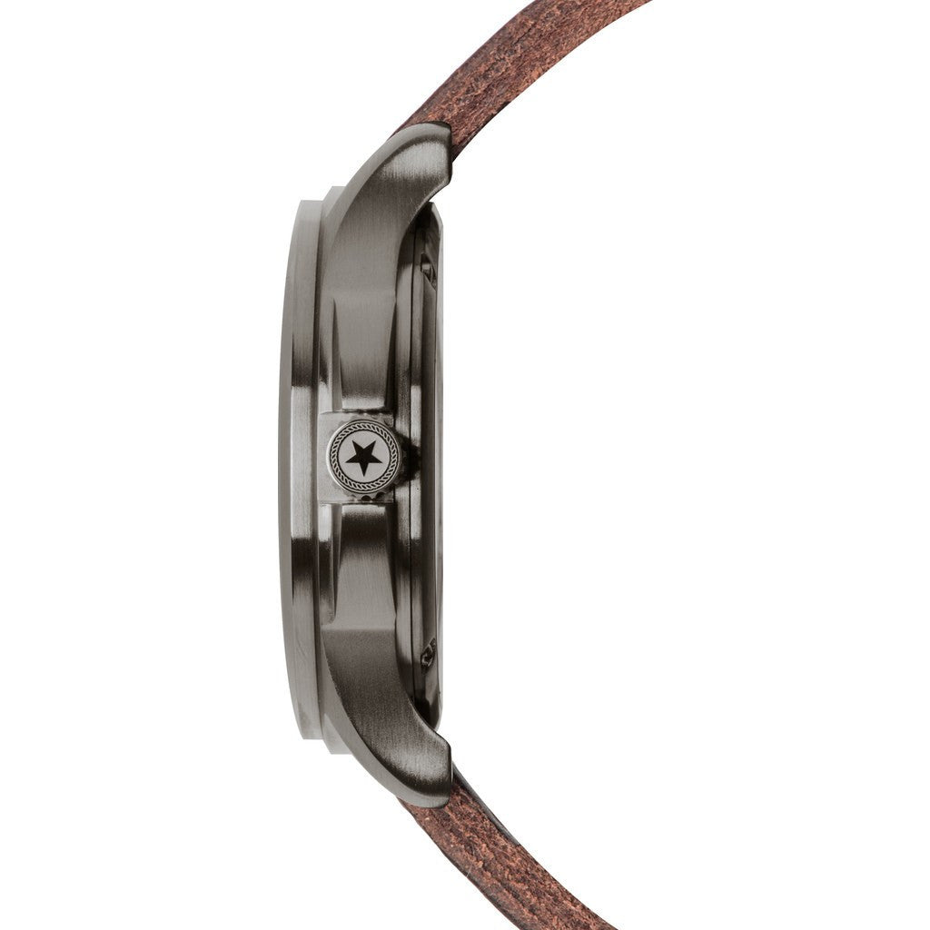 Jack Mason Field JM-F101-002 3-Hand Watch | Brown Leather JM-F101-002