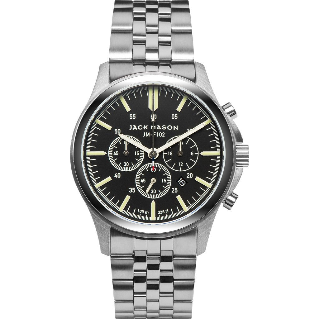 Jack Mason Field JM-F102-014 Chronograph Watch | Steel JM-F102-014