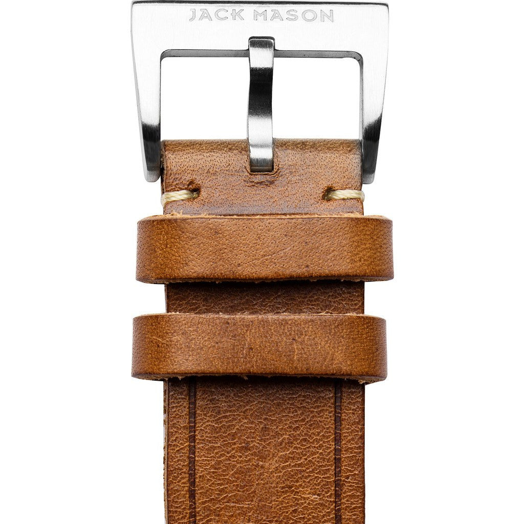 Jack Mason Aviator Watch Strap | Saddle Leather JMA-LS-002
