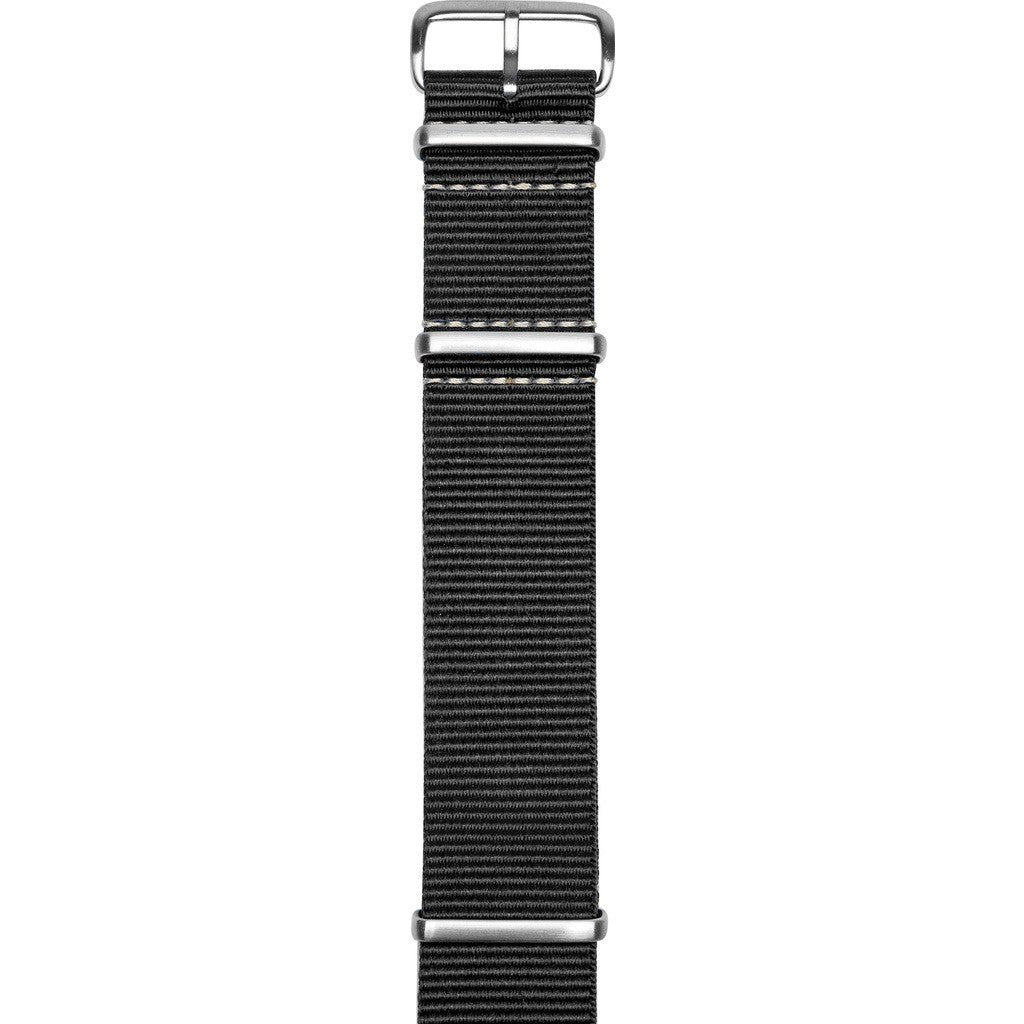 Jack Mason Aviator Watch Strap | Black Nylon JMA-NS-001