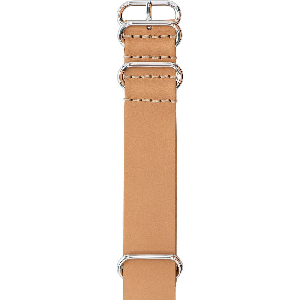 Jack Mason Nautical Watch Strap | Camel Leather Nato JMN-LS-005