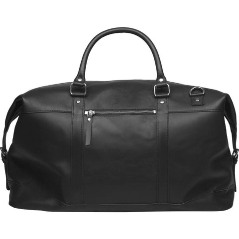 Sandqvist Jordan Weekend Bag | Black Leather SQA501