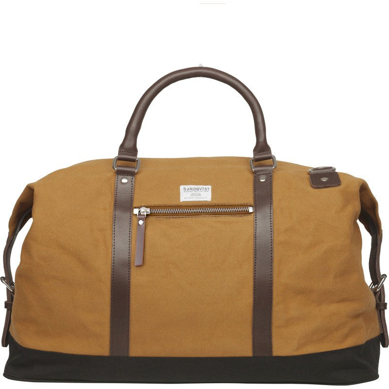 Sandqvist Jordan Weekend Bag | Waxed Khaki
