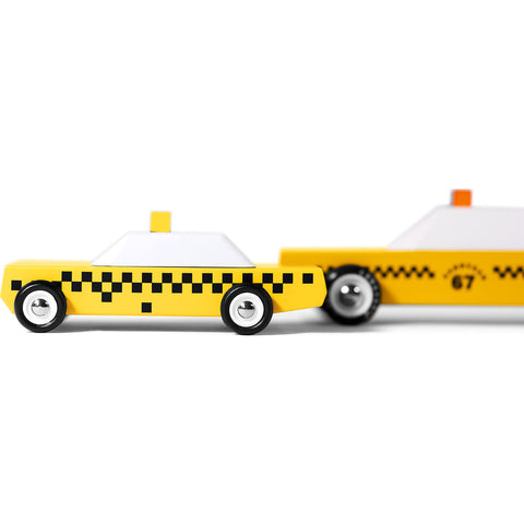 Candylab Junior Candycab Taxi Wooden Toy | Yellow MN04