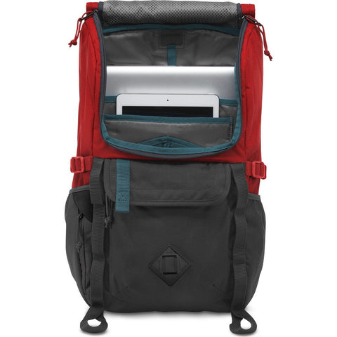 Jansport Hatchet Backpack | Forge Grey/Red T52S0UY